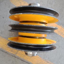 起重机起升动定滑轮 20T省力动滑轮 轧制滑轮