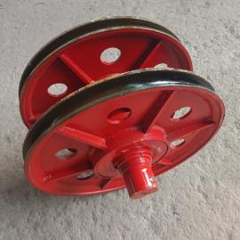 起重机定滑轮组 带轴承滑轮 港口机械32T滑轮组
