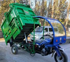 马力大爬坡性能好三轮摩托垃圾车 加厚车厢