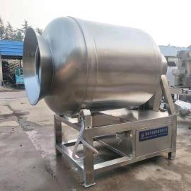 奥冠GR800牛肉不锈钢真空�L揉�C 牛肉全自动真空腌制设备