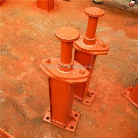HT3-800端部安装式弹簧缓冲器 起重机减震器 行车弹簧缓冲器