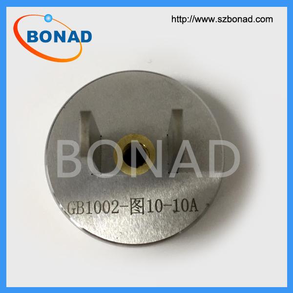 GB1002-2008图10/10A单相两极插座*小通规