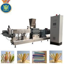 韩国大米吸管加工设备 大米吸管生产线 大米吸管生产设备