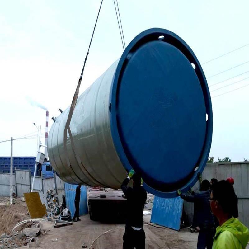 上 海玻璃钢一体化污水提升泵站