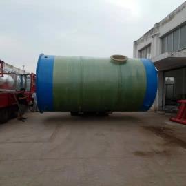 上 海玻璃�一�w化污水提升泵站