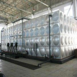 不锈钢箱泵一体化 18立方消防水箱