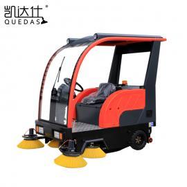 景区、公园道路清扫用大型电动吸尘清扫车凯达仕QS7