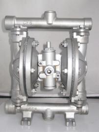 QBY-10老款不锈钢气动隔膜泵 化工专用泵