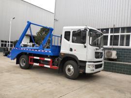 国六东风D9(8-10立方)摆臂式垃圾车的报价