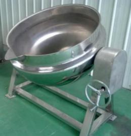 冠通机械全自动搅拌化糖锅 大型阿胶熬制锅 电加热导热油夹层锅