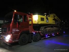 钩机板车拉320型挖掘机的平板车