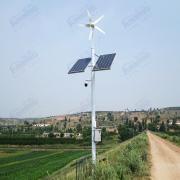 尚能太阳能供电系统 水文水利监控设备