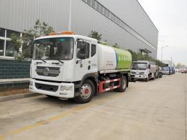 国六东风D9园林绿化车 12吨洒水车报价