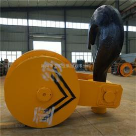 优质32吨双梁吊钩总成 平衡梁吊钩 电动旋转吊钩 钩头DG20#钢质