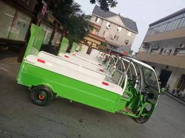 戎玖电动三轮6-8桶垃圾清运车