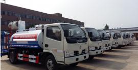 东风多利卡绿化喷洒车5吨(立方)国五国六报价洒水车图片
