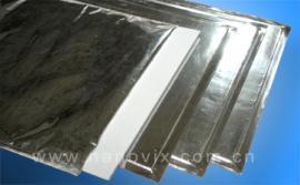 钢铁设备专用纳米微孔超级绝热材料,钢包保温板铝箔复合膜封装