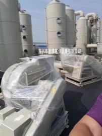 塑料净化塔 喷淋塔环保设备 生产光催化氧化喷淋塔吸附箱