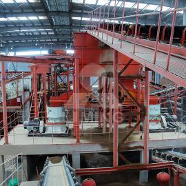 石料厂的机器安装 单杠液压圆锥破机安装施工方案