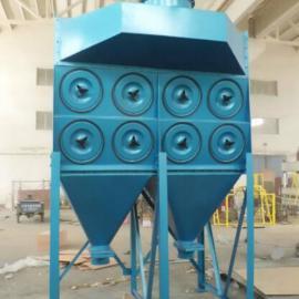 粉末回收垂直式滤筒除尘器易粉尘吸附及清灰