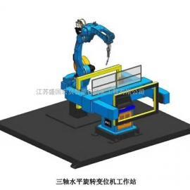 标准型机器人焊接工作站,经济型焊接机