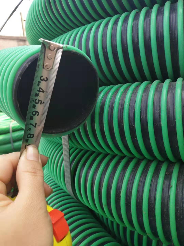 3-4寸吸粪管子 抽粪吸污管子加厚耐磨吸扁免费包换