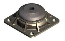 Weforma玻璃成型机减震器WM-EG 2x2
