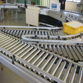 鸿成达非标定制滚筒输送线 物流卸货输送机流水线