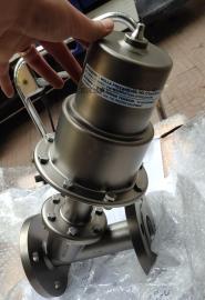 Burocco现货气动阀角座阀阀门选型常开常闭尺寸DN15-DN200
