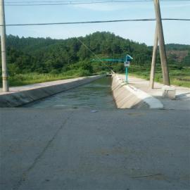 河床超声波明渠流量计水库河床灌溉流量计现场安装