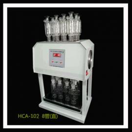 HCA-102型微晶版COD自动消解回流仪8管直瓶