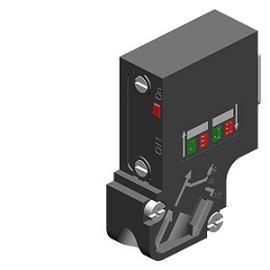 6ES7972-0BA70-0XA0西门子DP通讯插头6ES79720BA700XA0