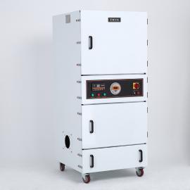 5.5KW的砂轮机打磨粉尘吸尘器 工业粉尘收集器