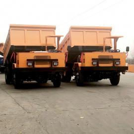 载重8吨的矿用四驱翻斗车