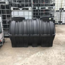 华社2立方可深埋加厚化粪池三格塑料桶新农村改造滚塑箱2000L