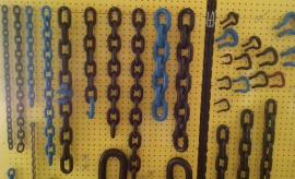 鲁兴单体液压支柱防倒链 0.6米0.8米1米矿用防倒链