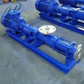 G20-1螺�U泵 不�P�污泥螺�U泵