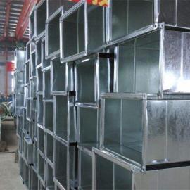 1.0环保镀锌钢板共板法兰风管车间耐高温金属矩形共板法兰风管