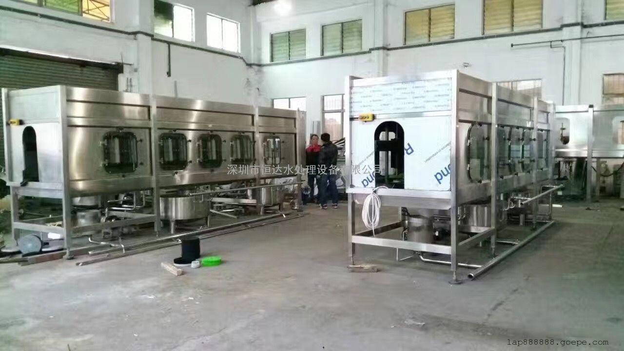桶装水高压内冲洗机 360度无死角自动升降清洁高新技术产品