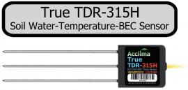 Acclima TDR315H 土壤温湿盐传感器/土壤水盐热传感器
