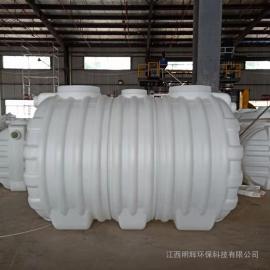 耐腐蚀吹塑成型3m3化粪池三格式塑料化粪池