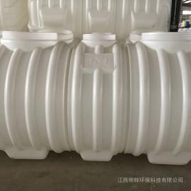 旱厕改造无缝隙1.5立方化粪池塑料化粪池