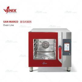 意大利VENIX机械热回风喷湿风炉/5盘商用烤箱进口烘培烤箱