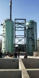定制玻璃钢脱硫脱硝塔|免费安装脱硫脱硝塔|锅炉脱硫脱硝塔