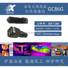 在线式测高温红外热像仪钢厂煤矿能源化工红外热成像测温仪GC86G
