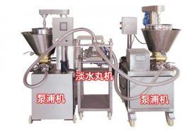 生产鱼排泵浦机器
