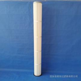 隆信生产 2米高除尘器滤筒 代替布袋滤筒