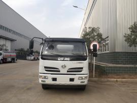 东风多利卡8吨油罐车的报价 楚胜牌运油车