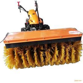 物业小区路面扫雪机 汽油动力环卫扫雪车 小型马路除雪机