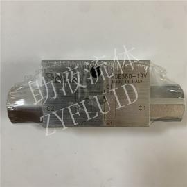 意大利原装进口Oleoweb钻机支腿双向液压锁VRDE380